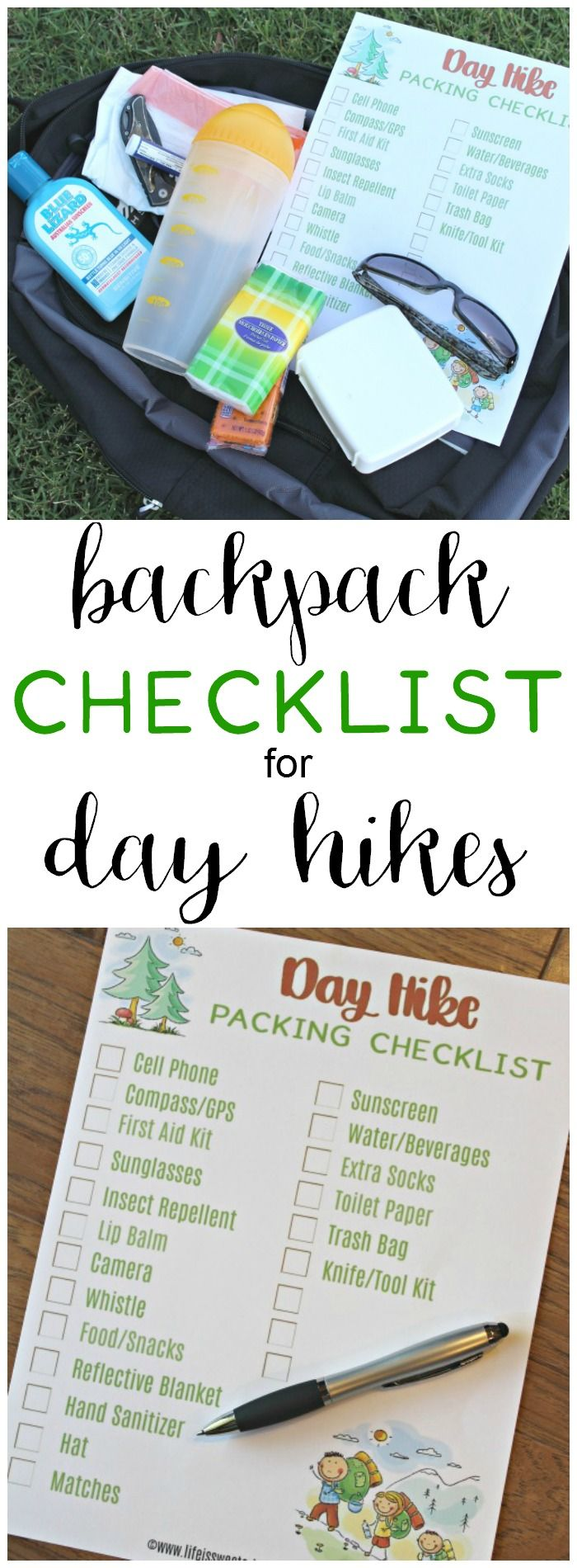 A hiking checklist will help you remember to pack everything you need for  day hikes! Get your free printable hiking checklist today. Packing for a  hike has ... fa1e95280f