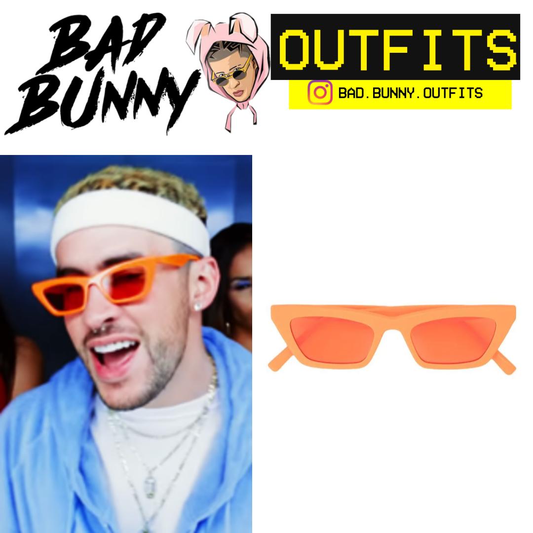 Bad Bunny Outfits Lentes De Sol La Dificil Lentes De Sol Lentes Outfits