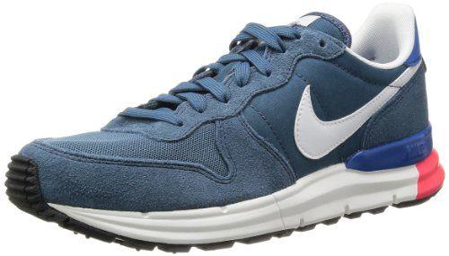 hot sale online 29db9 46517 Nike Mens Lunar Internationalist New SlateSummit WhiteMilitary Blue