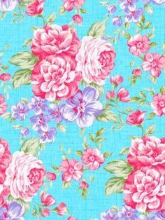 Pin By Hattie The Old Fashion Vintage Cowgirl On Hattie S Dollhouse Fun Floral Wallpaper Phone Blue Floral Wallpaper Phone Wallpapers Tumblr