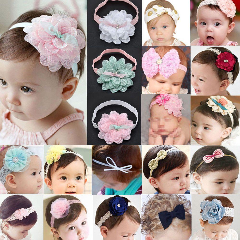 d432b276440f  0.99 - Cute Baby Girl Toddler Lace Flower Hair Band Headwear Kids Headband  Accessories  ebay  Fashion