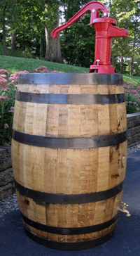 Rain Barrel Whiskey Barrels Used