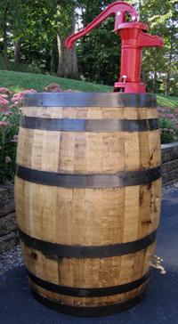 Rain Barrel Whiskey Barrels Used