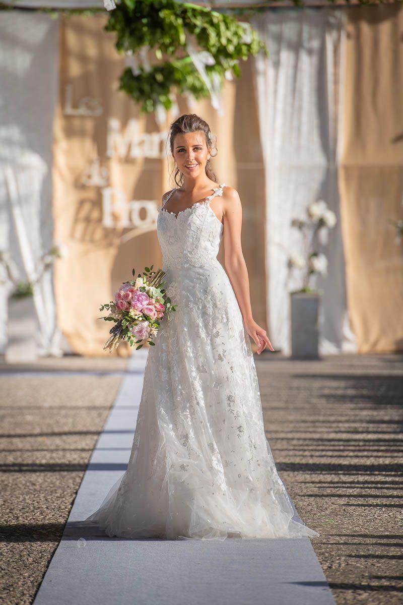 Robe de mariée bohème - modèle ROSA | Robe