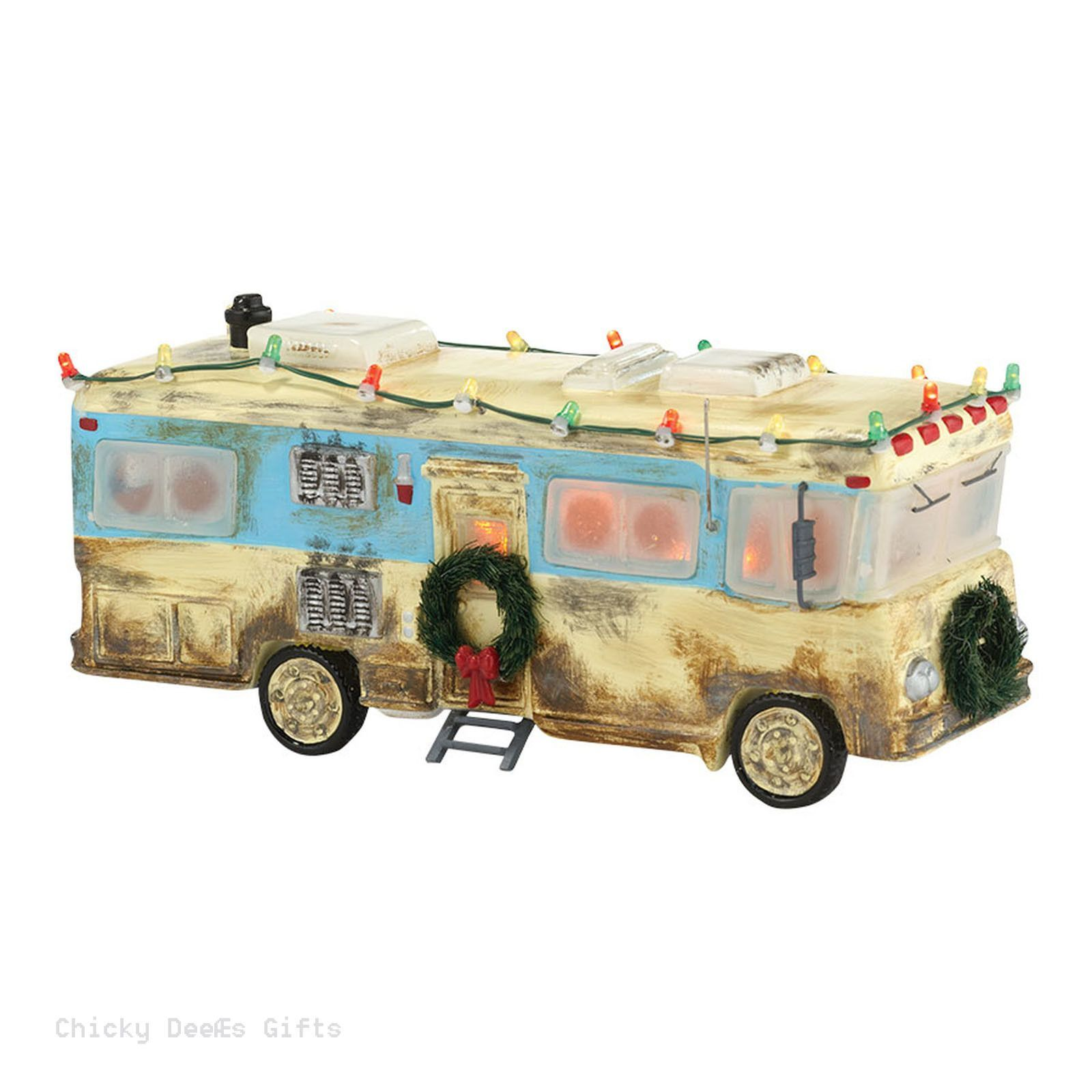 Snow Village NATIONAL LAMPOON`S CHRISTMAS VACATION Cousin Eddie\'s RV ...