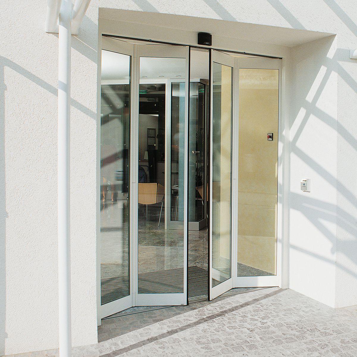 DORMA FFT BI-FOLDING DOORS Automatic bi-folding door with slender fine- & DORMA FFT BI-FOLDING DOORS: Automatic bi-folding door with slender ...