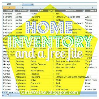 Office Inventory List Home Inventory & File  Organizing Ideas  Pinterest  Filing .