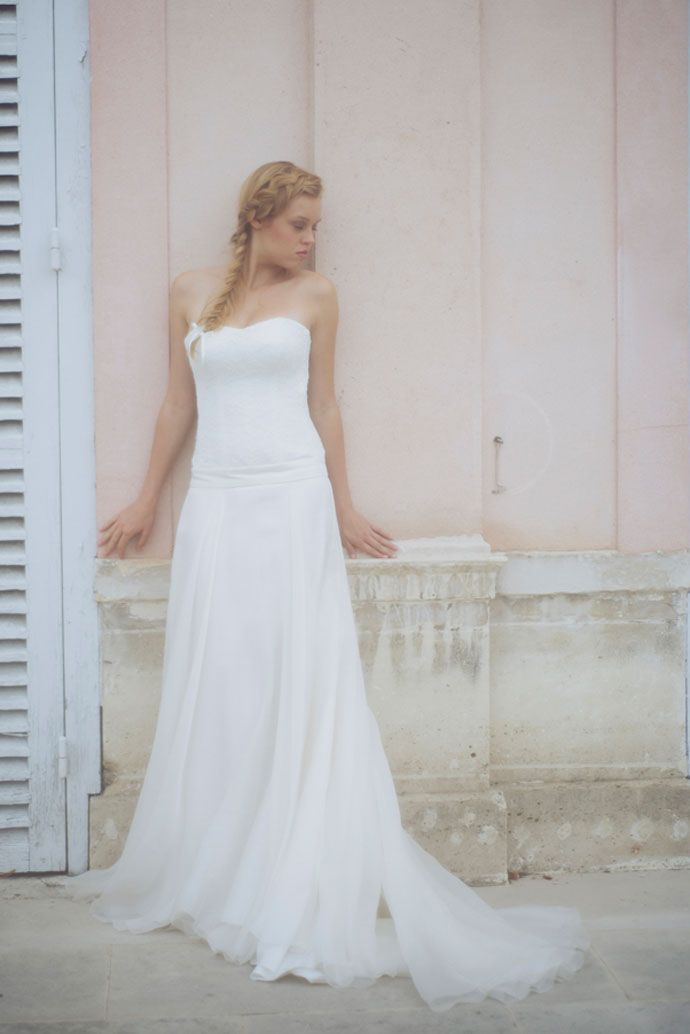 Les Robes de mariée d'Organse - Paris | Crédits : Organse | Modèle : Emilie | Donne-moi ta main - Blog mariage