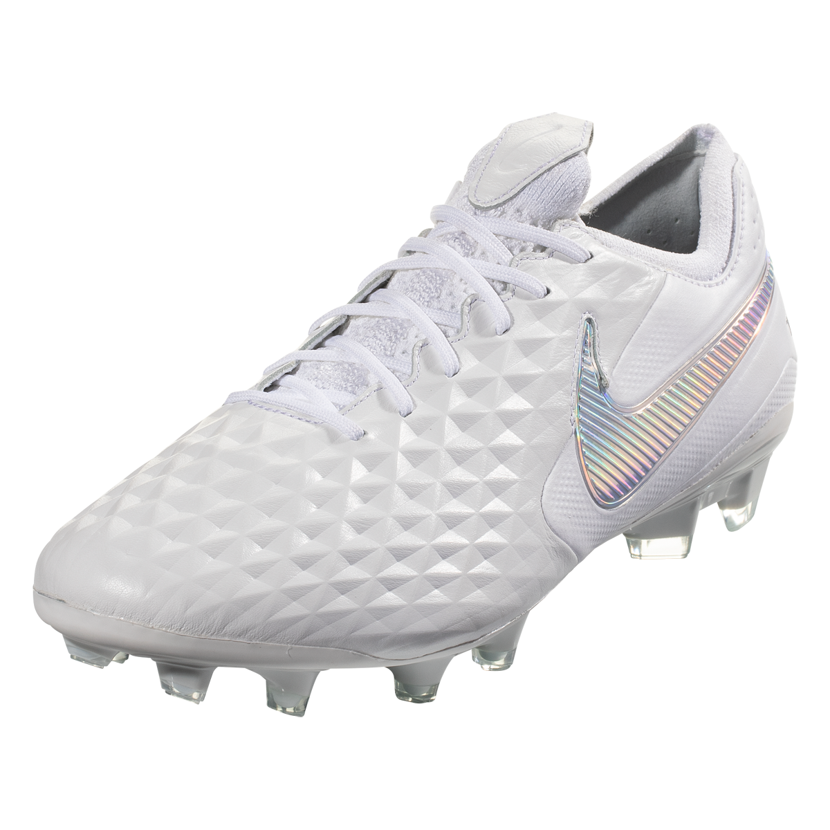 Nike Tiempo Legend 8 Elite Fg Soccer Cleat White Silver 4 Soccer Cleats Nike Pink Soccer Cleats Girls Soccer Cleats