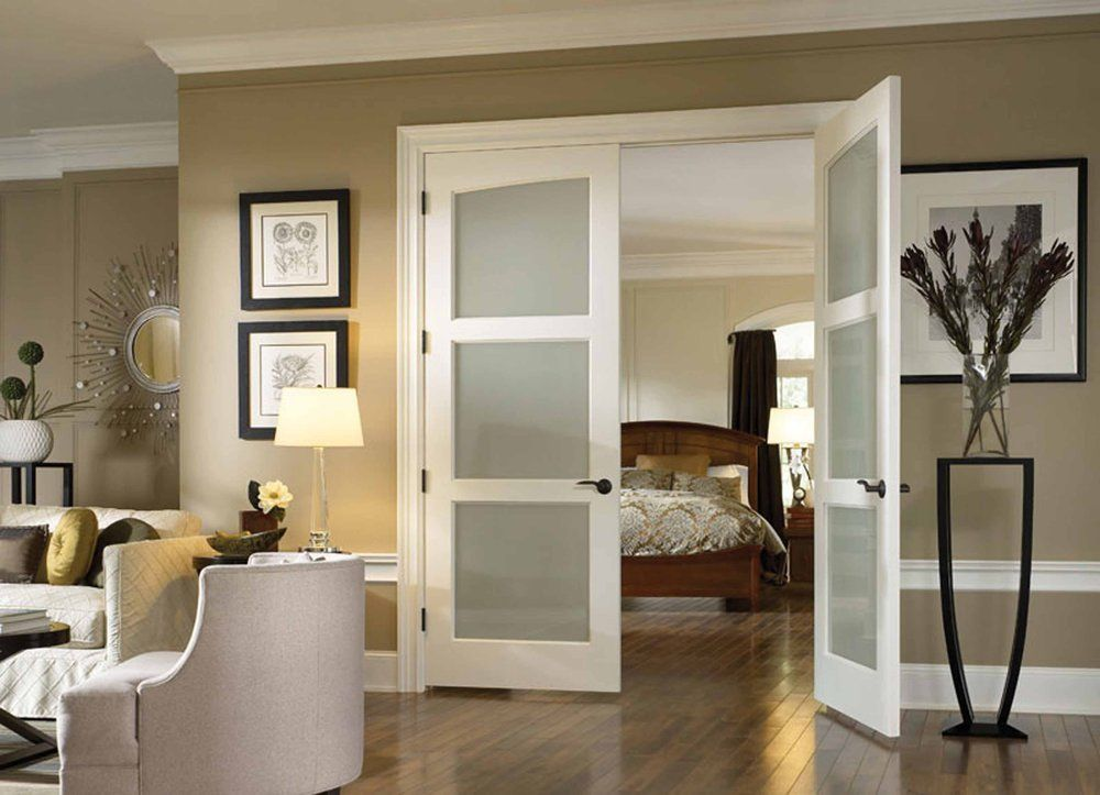 Interior French Doors Opaque Glass french doors: modern privacy glass | home | pinterest | privacy