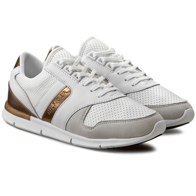 neues Erscheinungsbild bieten Rabatte Entdecken Sneakers TOMMY HILFIGER - Skye 1Z1 FW56820811 Snow White ...