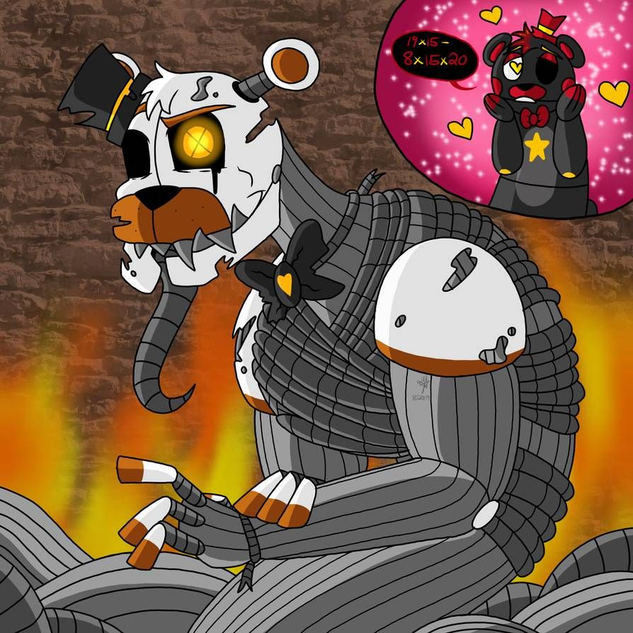Molten Freddy (Lefty's Crush) by YaoiLover113 on