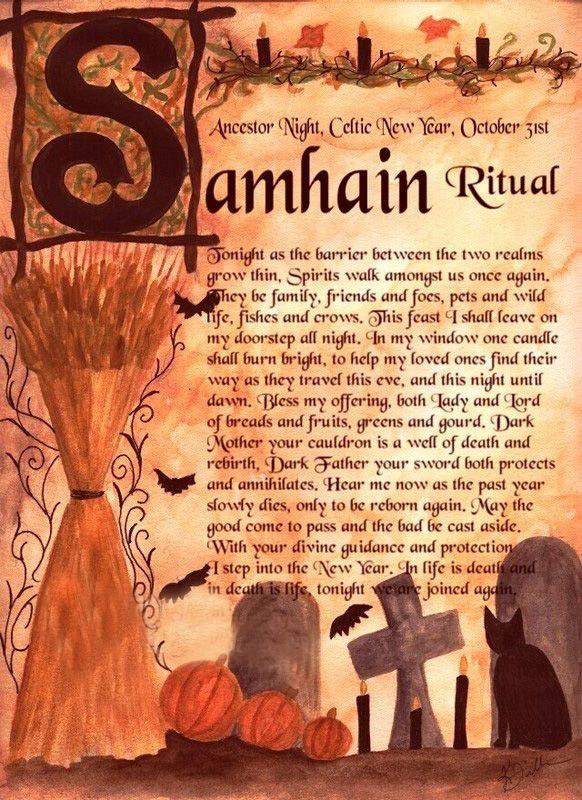 Rituals and Ceremonies | Halloween | Samhain ritual, Samhain