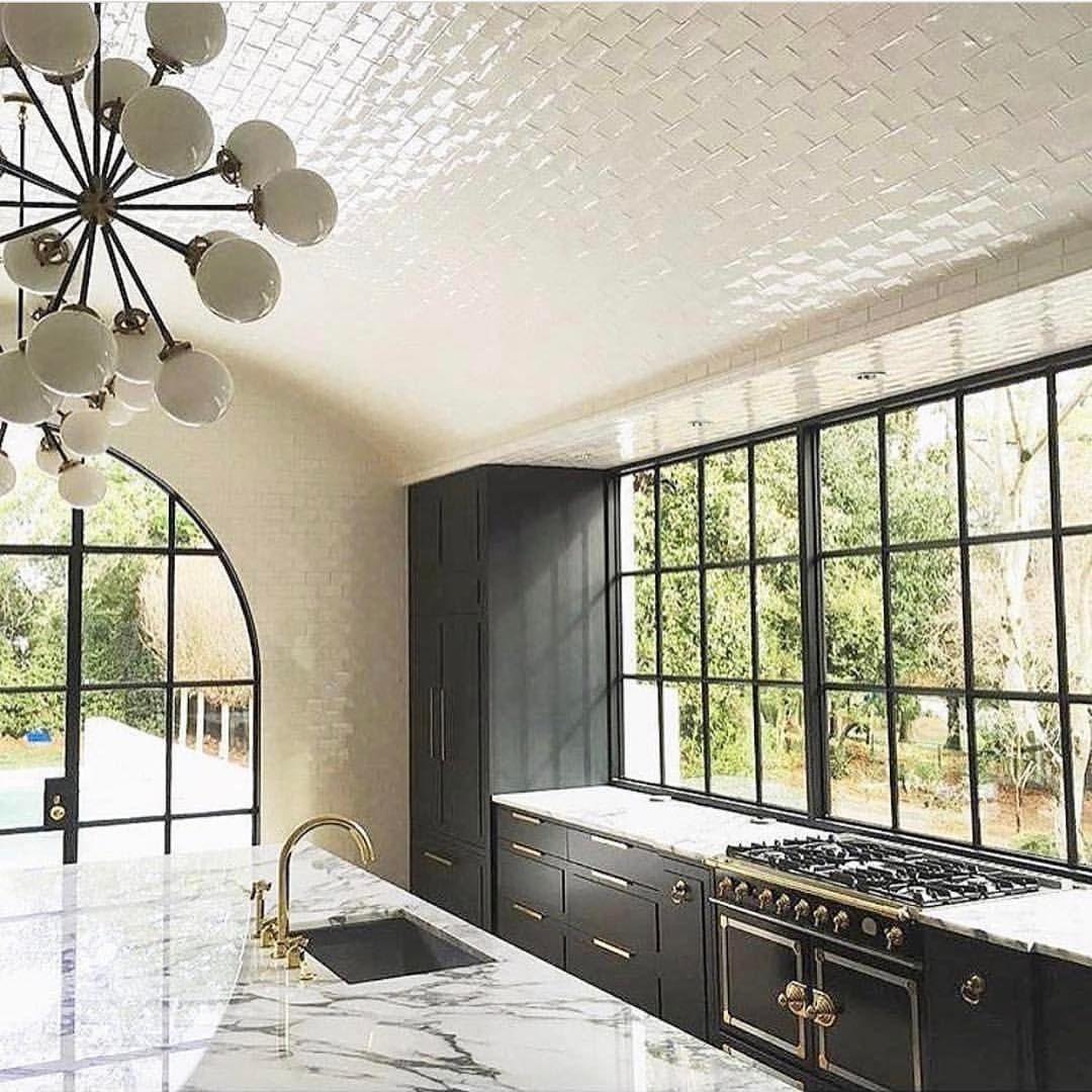 Tiled Ceiling -@adesignersmind