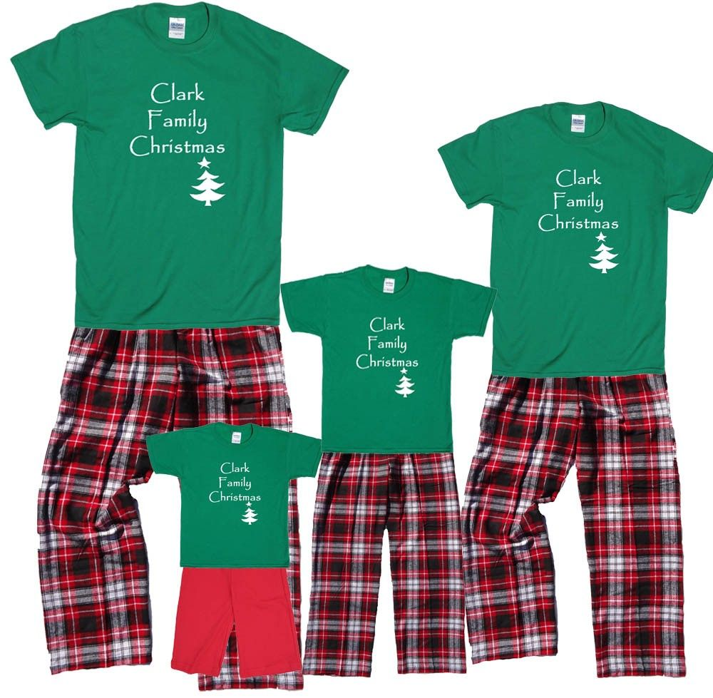 4f22418bc1eb Custom Kids Rudolph Family Pajamas - Who doesn t like matching Christmas  pajamas  Get your family together and customize these w…