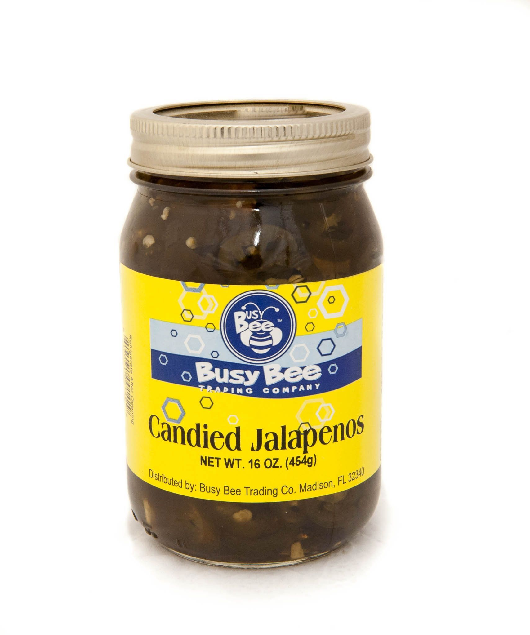 Sweet and spicy all in one! Candied Jalapenos