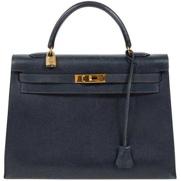 bf0baf29a5 Pre-owned Hermès Kelly Leather Handbag ( 7