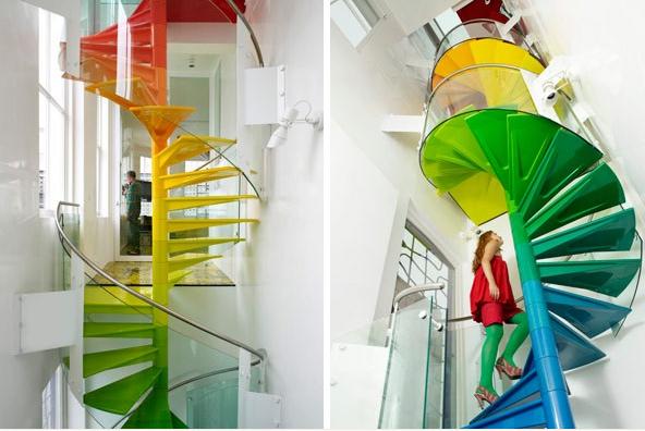 climbing a rainbow