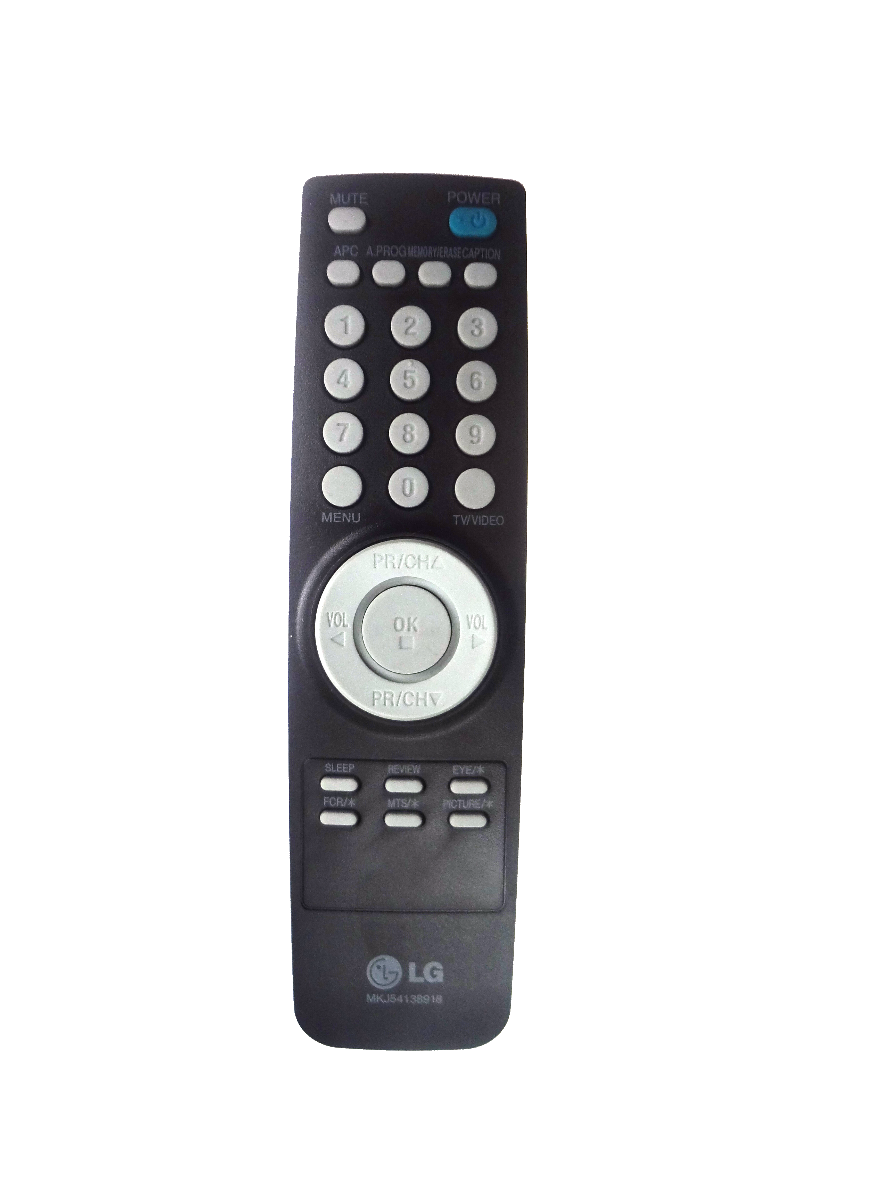 Mkj54138918 Remote Control Remote Tv Remote
