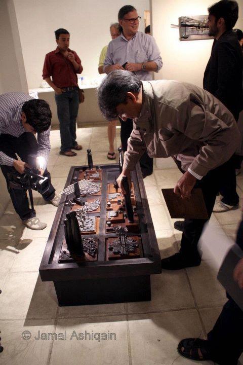 103. abdul jabbar gul art show at koel gallery, karachi #pakistan