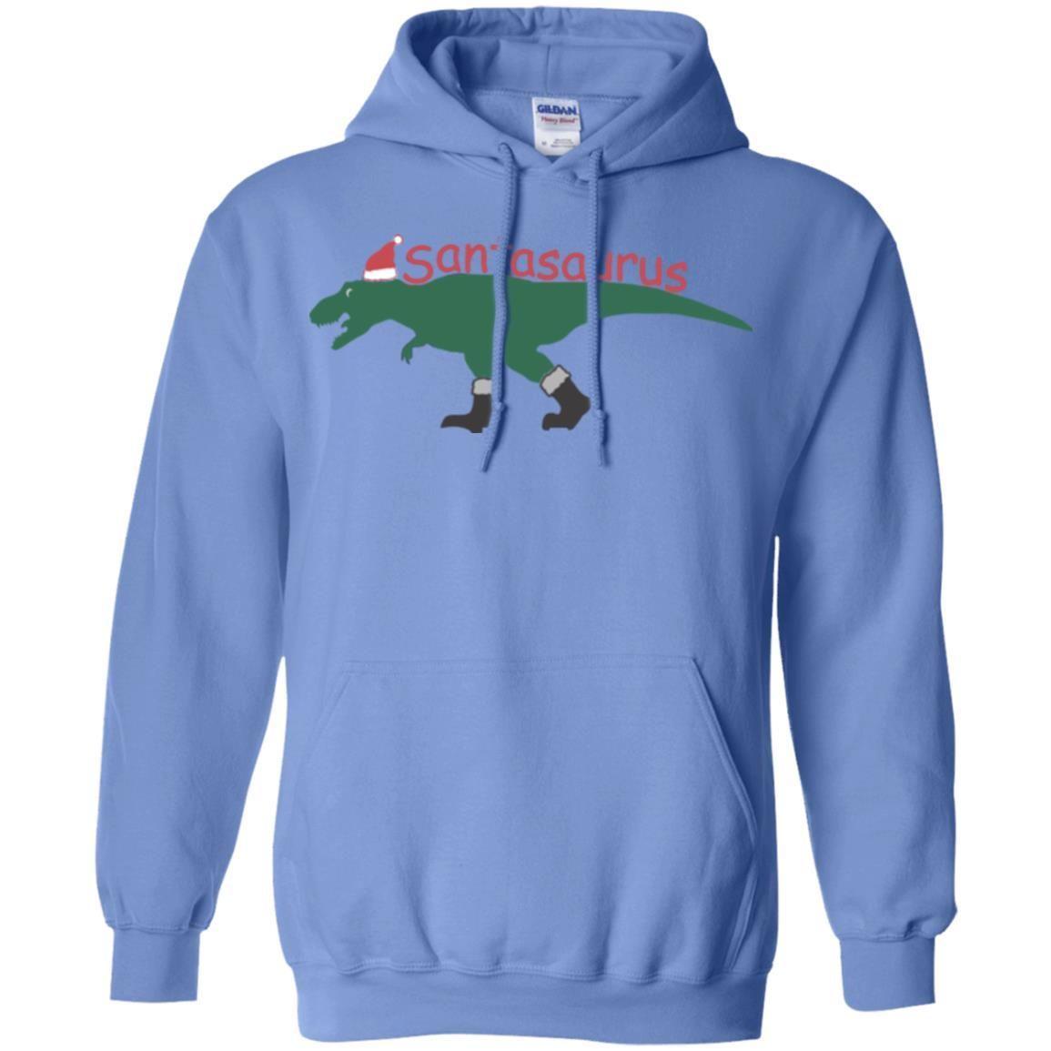 Cute Santasaurus T-rex Ugly Christmas Sweater T-shirt Kids