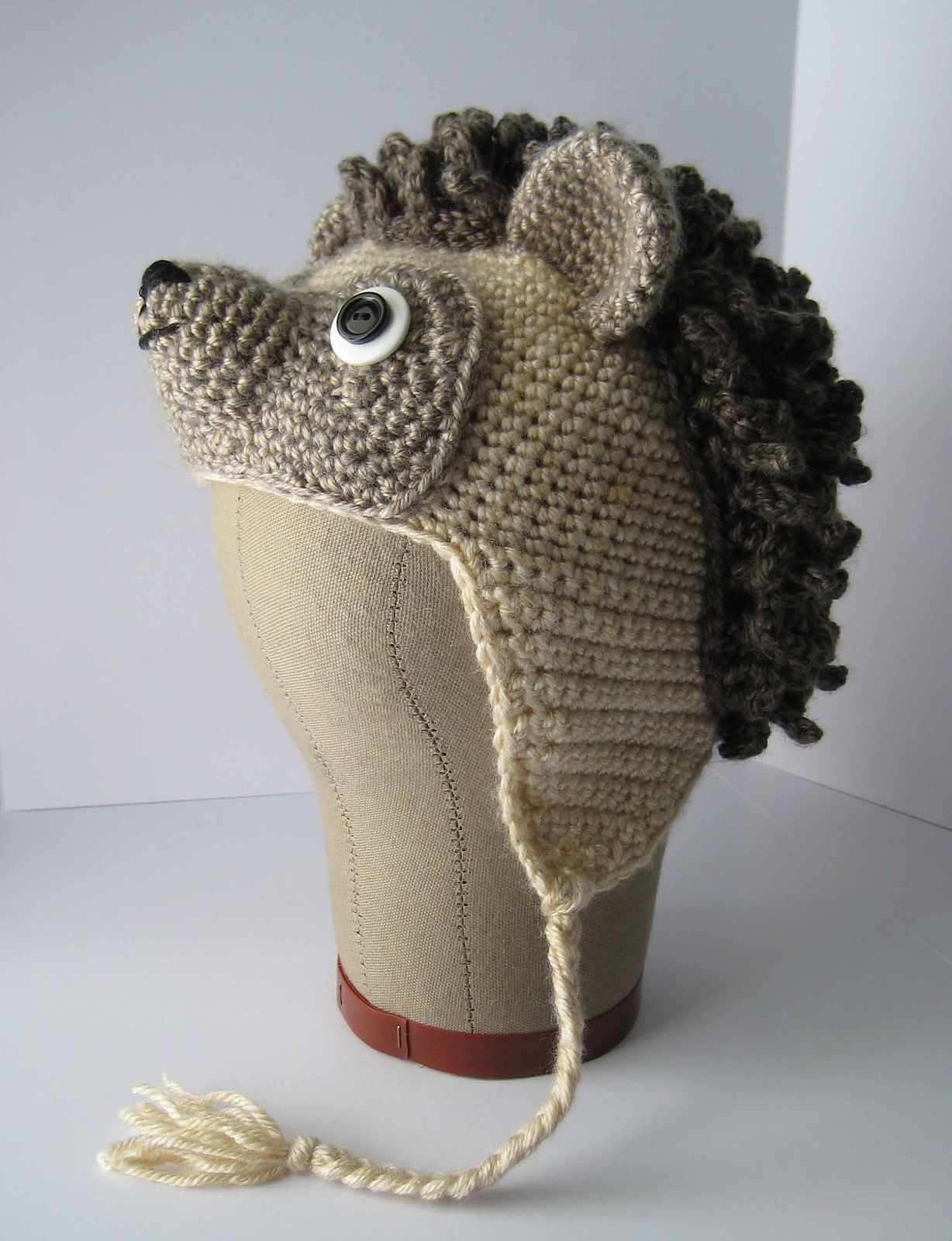 Spike the Hedgehog Hat pattern by Brenda K. B. Anderson  a9f4e6cfb95