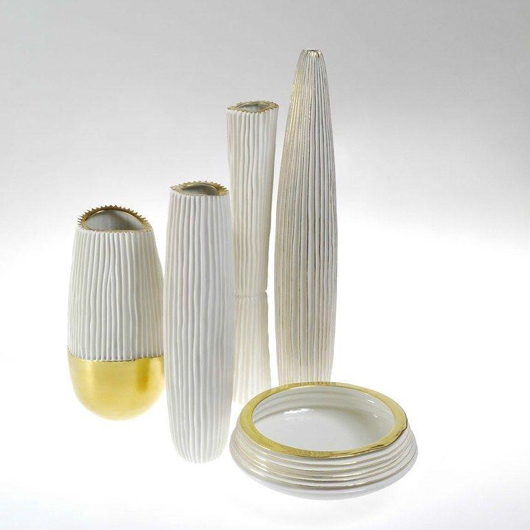Porcelain vase NOVALIS | Vase - Fos Ceramiche