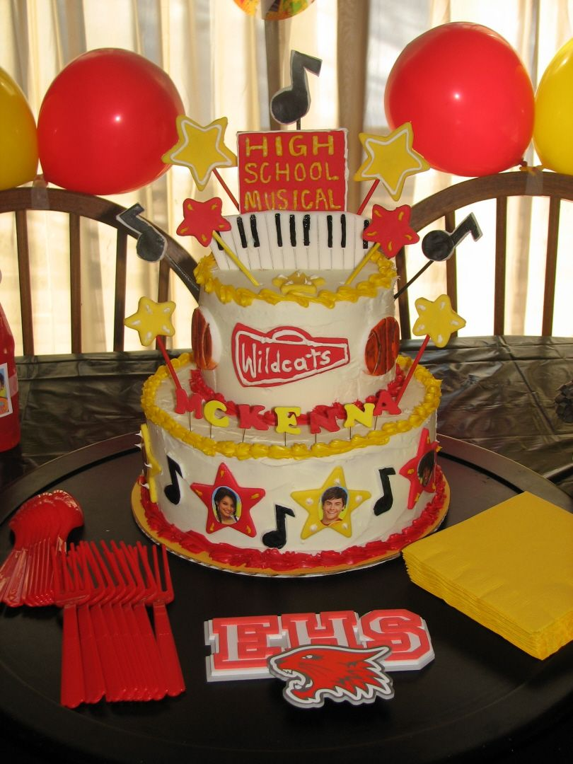 I Want A High School Musical Cake For My Berfday Yay