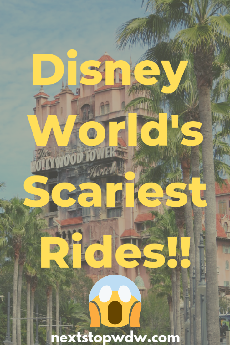 What Is The Scariest Ride At Walt Disney World Next Stop Wdw Disney World Rides Disney World Disney World Planning