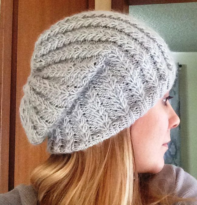 » How to Knit a Slouchy Beanie Hat? | Knitting, Beanie ...
