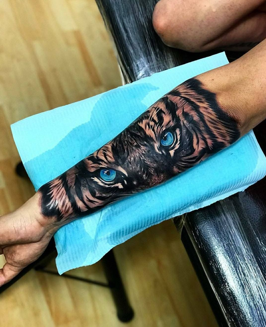 Love The Tiger Eyes Cool Arm Tattoos Arm Tattoos For Guys Tattoos For Guys