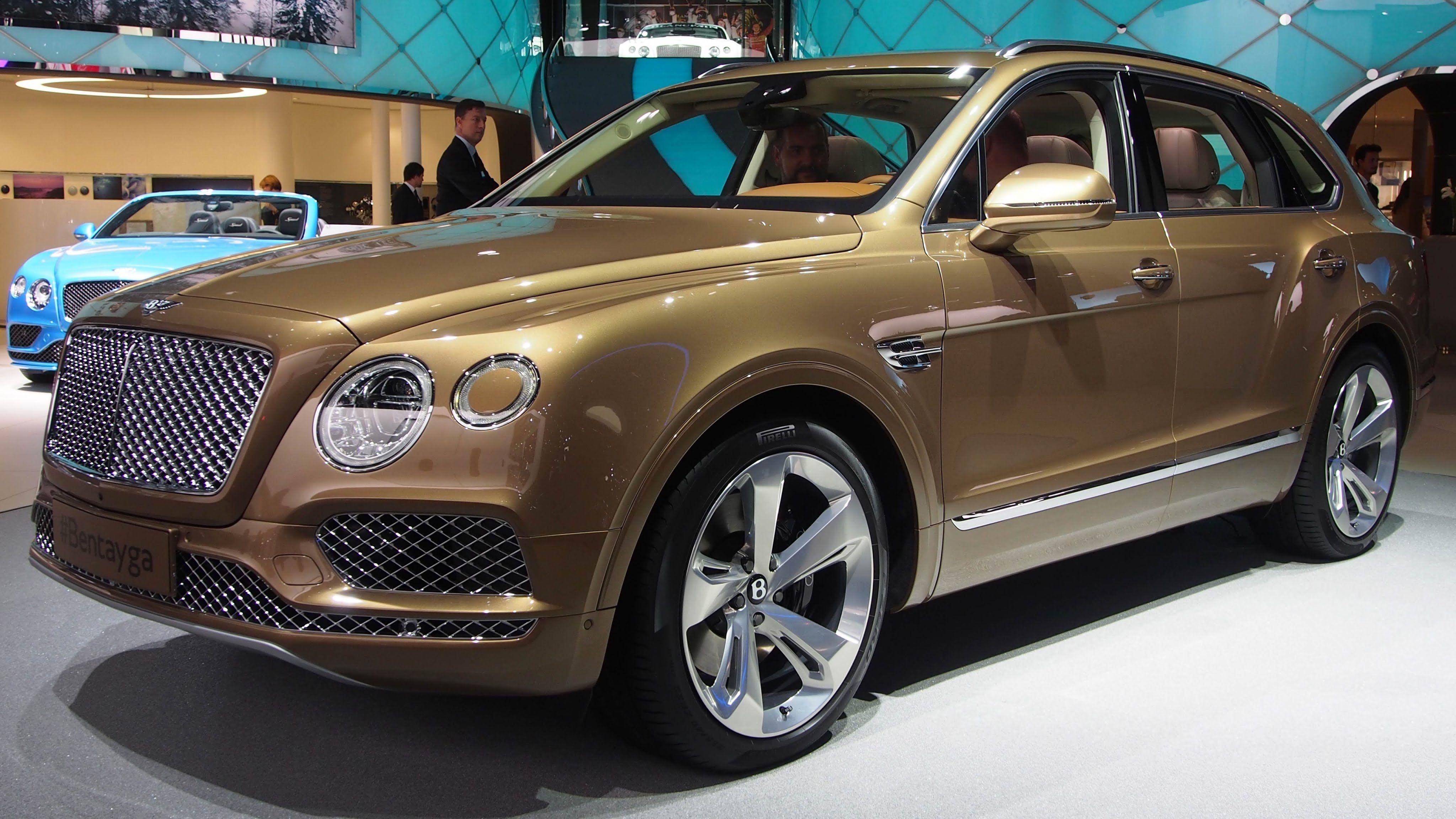 2016 Bentley Bentayga SUV twin turbocharged 6 0 litre W12 engine