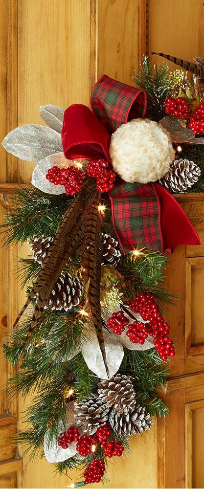 Rustic Christmas Decorating Ideas Navidad, Decoración navideña y