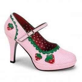 Contessa-58 Strawberry Short Cake Heels