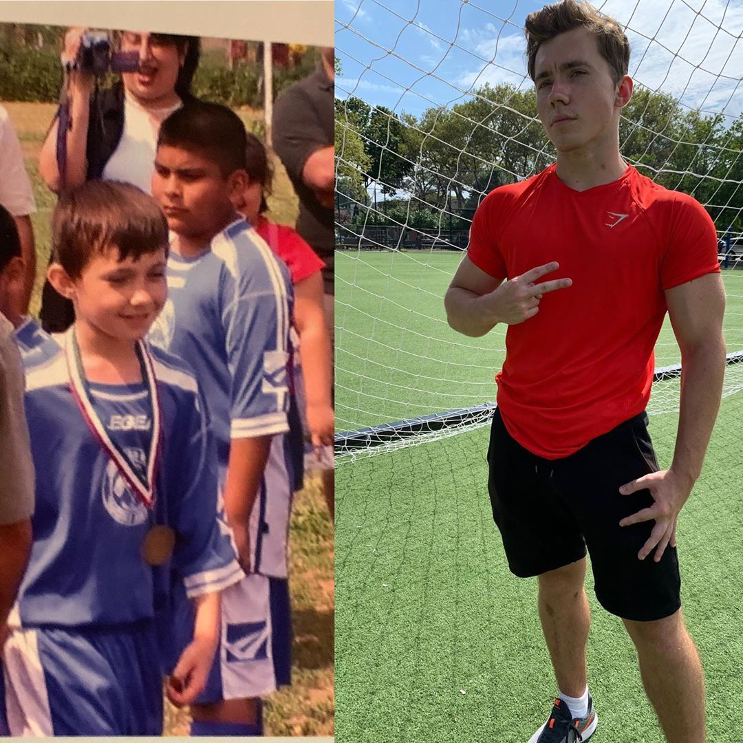 10 years old on the left , after my first ever league when I played in FIAO (played since 4 years ol...