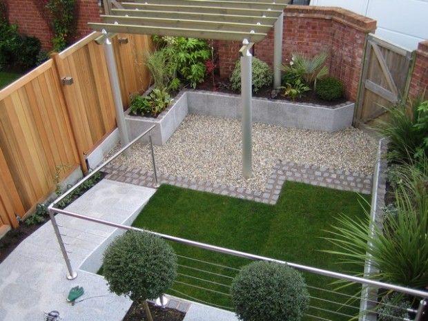 Small Modern Garden As Small Garden Ideas On A Budget With The - Small modern gardens