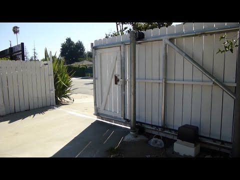Diy How To Build Your Own Cantilever Sliding Gate 1