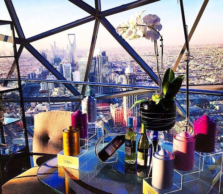Faisaliah Tower Globe Hotel Riyadh Travel To Saudi Arabia Cool Places To Visit Saudi Arabia