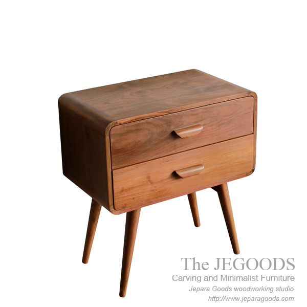 Vintage Retro Sideboard Teak Furniture Jepara Scandinavian