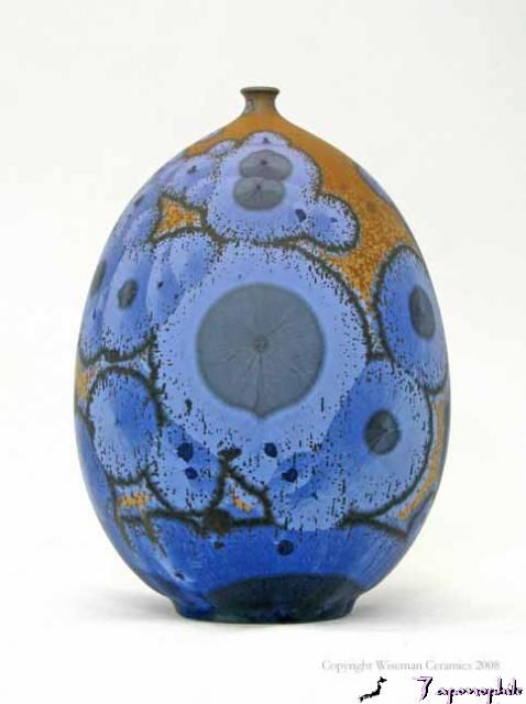 Crystalline Glaze Bottle 11