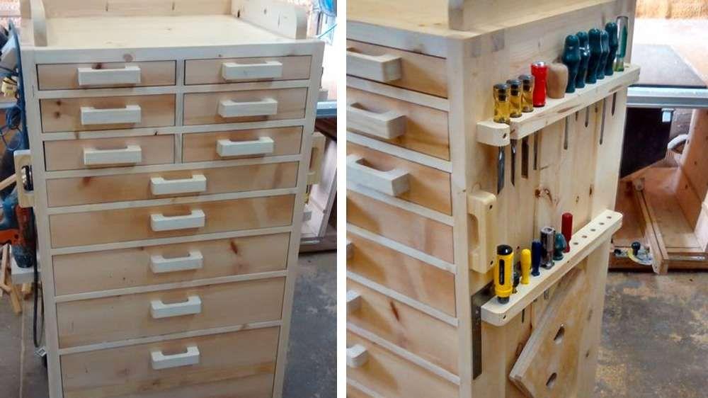 23 id es adopter pour ranger vos outils de bricolage outils de bricolage ranger et outils. Black Bedroom Furniture Sets. Home Design Ideas