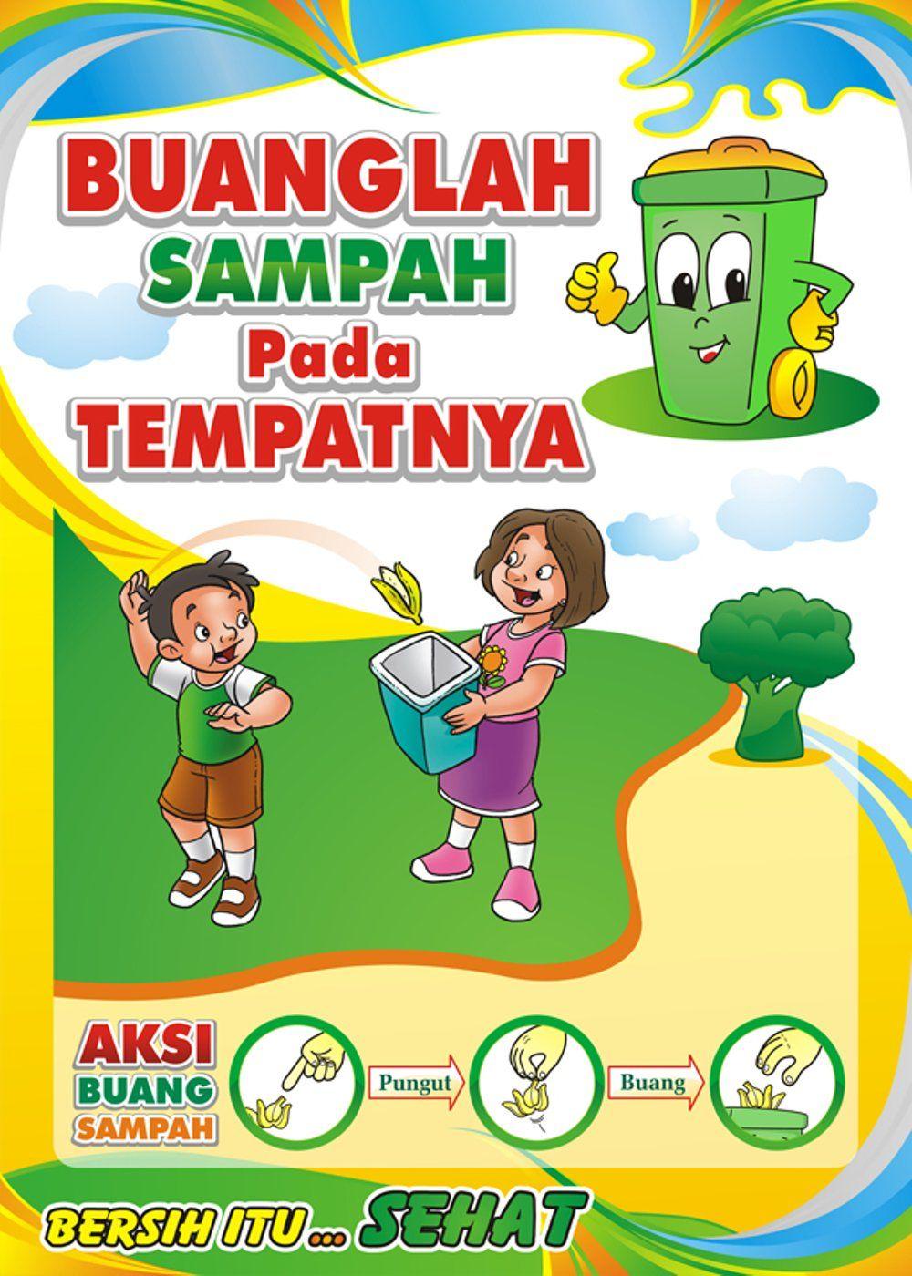 Contoh Gambar Poster Tentang Kebersihan Contoh Aura Cute766