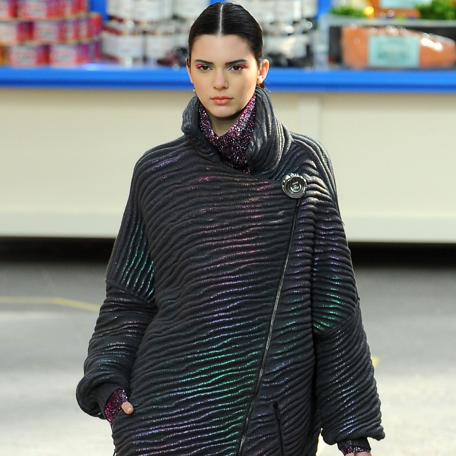 Kendall Jenner Didn't Use Her Famous Name to Get to Fashion Week