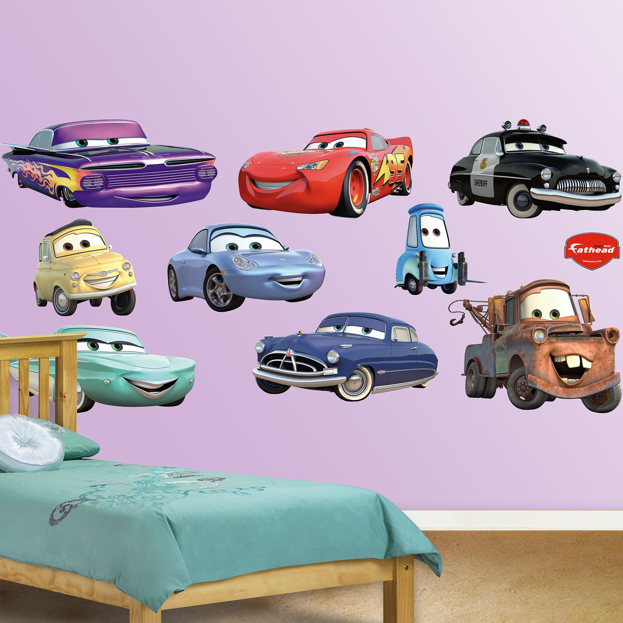 Cars Collection X Large Officially Licensed Disney Pixar Removable Wall Decals Disney Pixar Cars Disney Cars Removable Wall Decals [ 2000 x 2000 Pixel ]