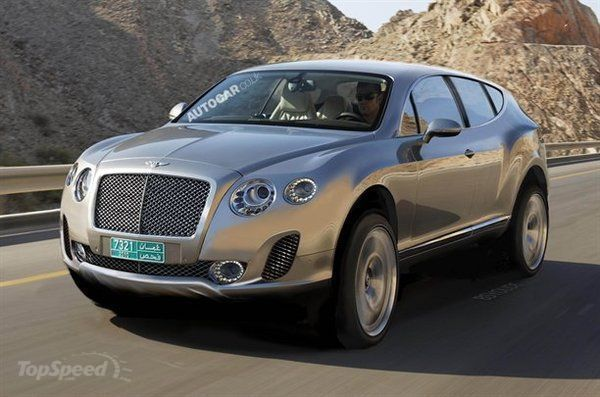 Bentley SUV...built by Porshe? Hmmnn - the best of both worlds ...
