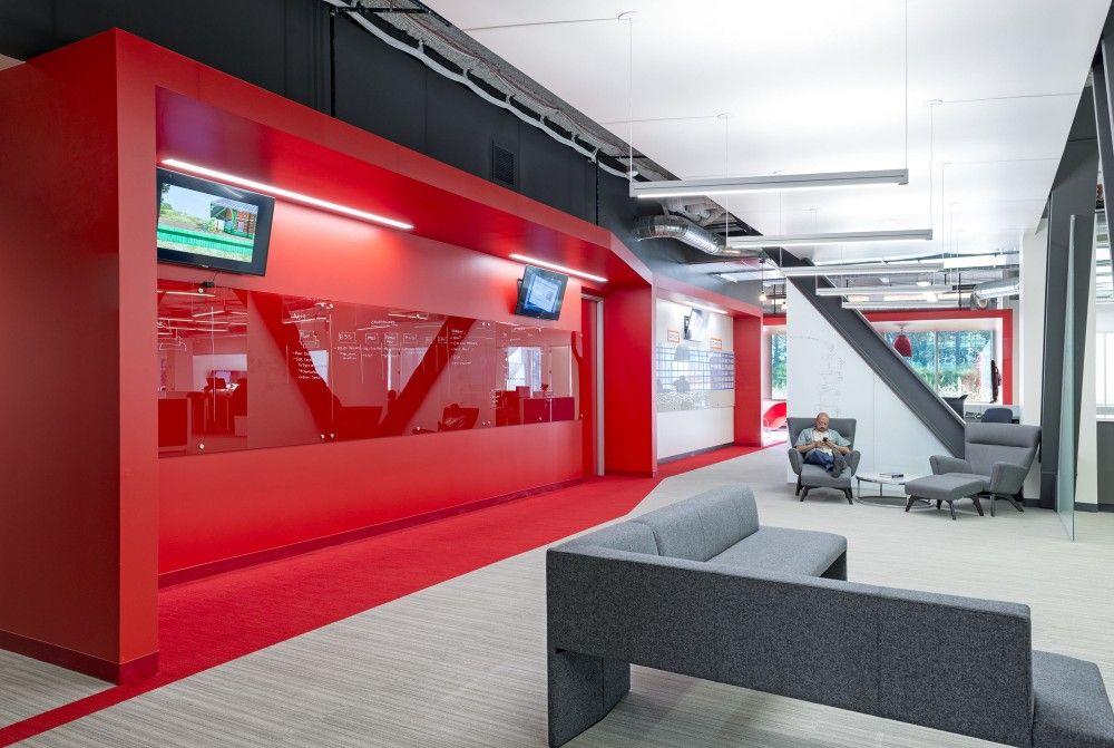 Gallery Of Comcast Design Blitz 1 Modern Office Interiors Office Interiors Innovation Centre
