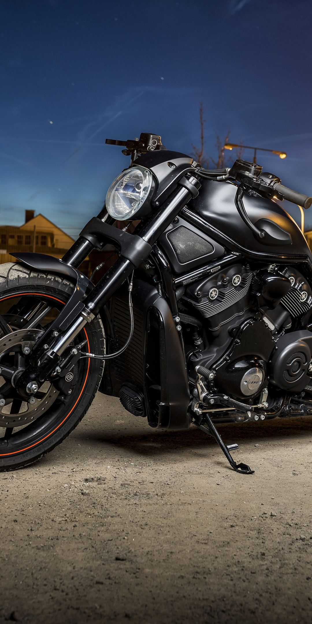 Harley Davidson Muscle Bike Night Out 1080x2160 Wallpaper With