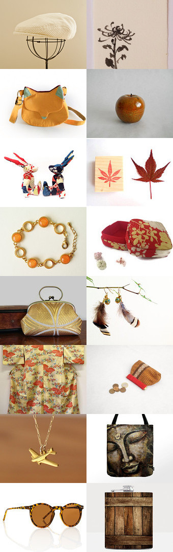 Trip to Japan in Fall by Kimie Sagisaka on Etsy--Pinned with TreasuryPin.com