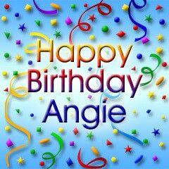 Happy Birthday Angie Happy Birthday Mary Happy Birthday Sheila