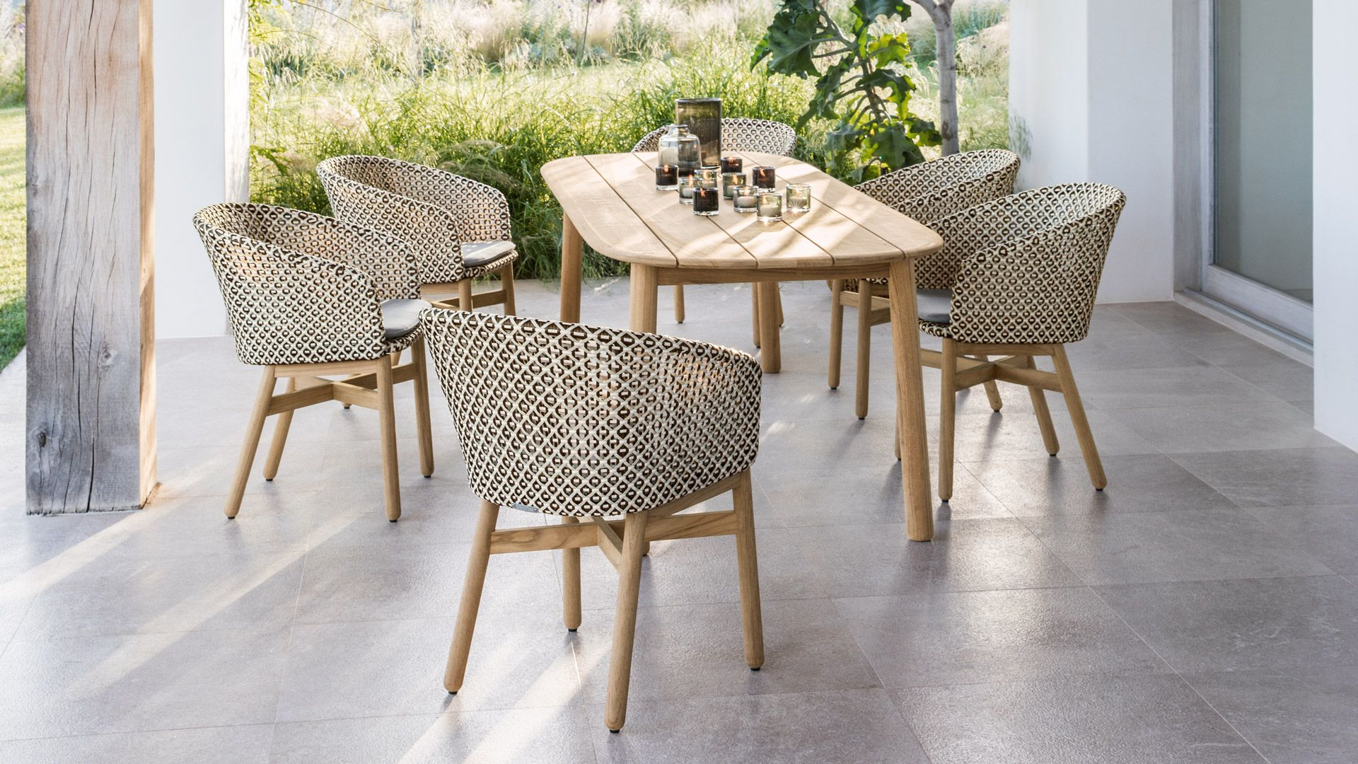 DEDON MBRACE DINING | MBRACE | Outdoor dining chairs ...